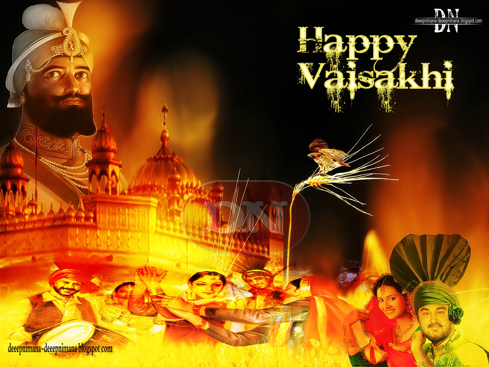Happy Baisakhi Wishes, Greetings & Cards