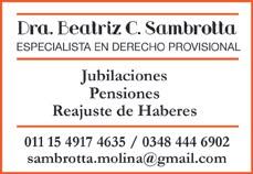 Dra. Beatriz Sambrotta