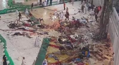 Tragedi Mekkah: Foto-Foto Setelah Jatuhnya Crane di Masjidil Haram