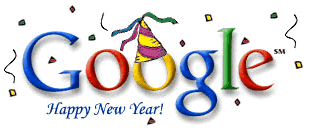 New Year 2000 Google Doodle