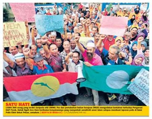 Fitnah terbaru surat khabar UMNO!