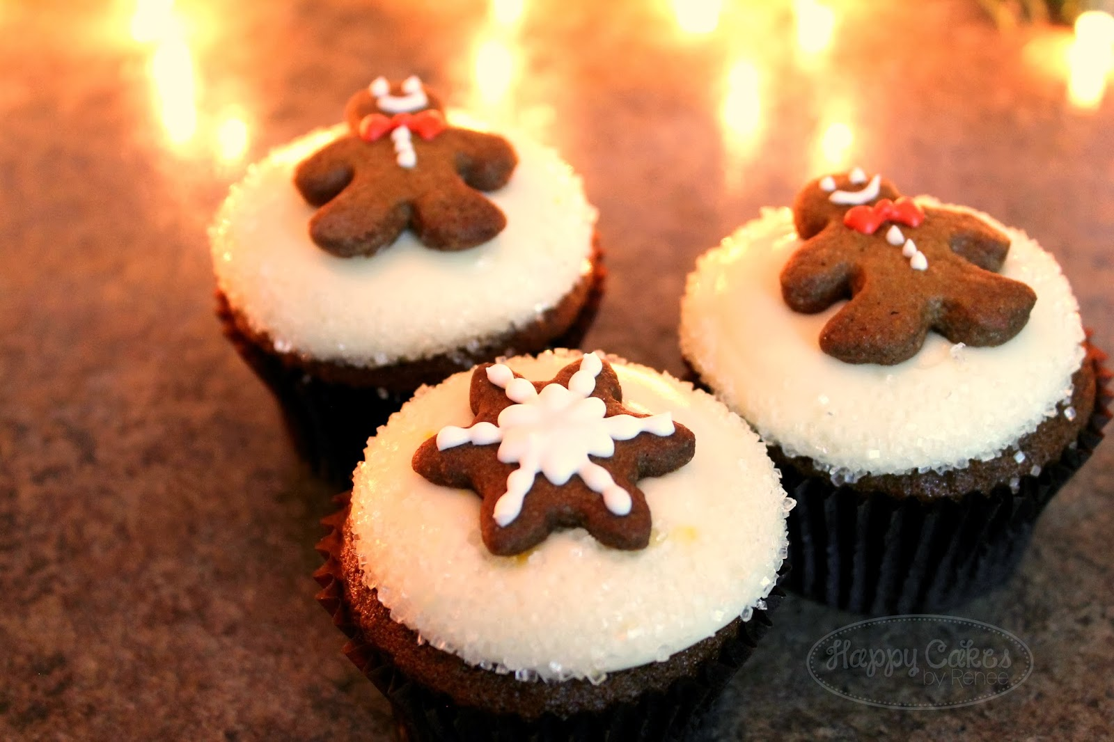 Gingerbread Cupcake Recipe!!
