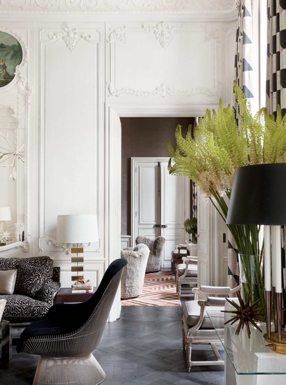 Shelter lauren santo domingo in paris for Interiors design blog