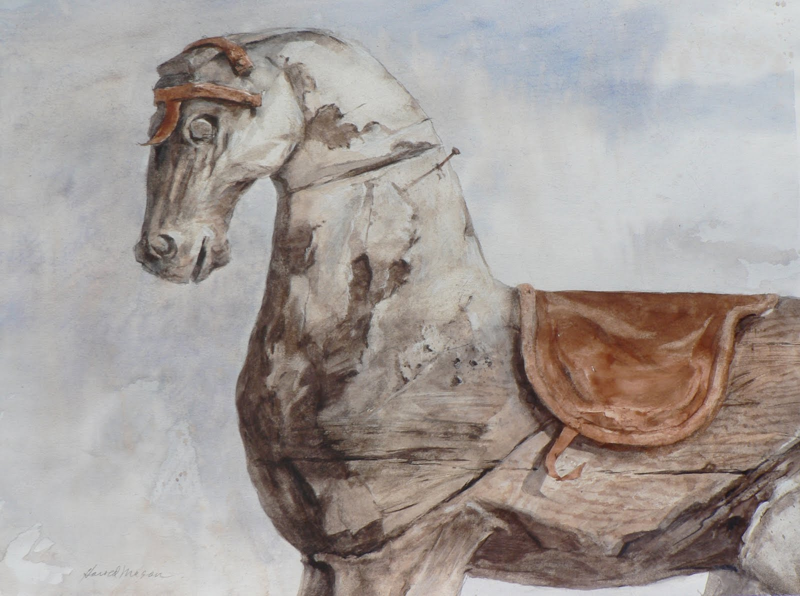 Wooden Stallion