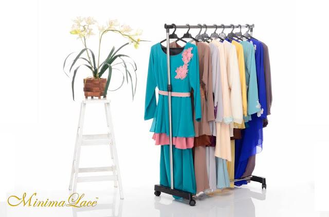 Baju kurung peplum dari MinimaLace Boutique
