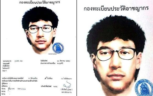 Governo pede ajuda à Interpol para encontrar suspeito do ataque em Bangcoc