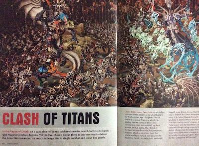 Archaón quiere doblegar a Nagash y hacerse con el Reino de la Muerte