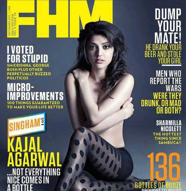 Kajal agarwal cover magazine sorry