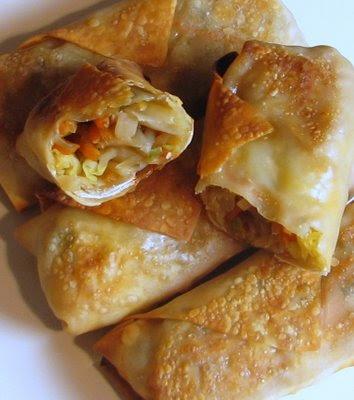 Baked Vegetable Egg Rolls | Cook'n is Fun - Food Recipes, Dessert ...
