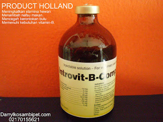 Introvit b-complex,Vitamin anjing,Vitamin kucing,Vitamin metabolisme,Vitamin nafsu makan