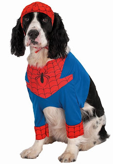Sipderman Pet Dog Costume