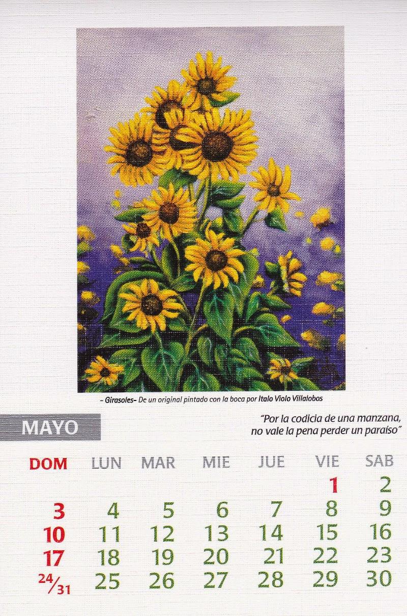 calendario 2015 mayo