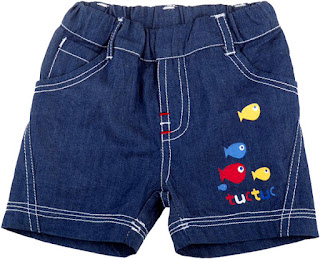 Tuc Tuc Marine Treasures - Boys Denim Shorts