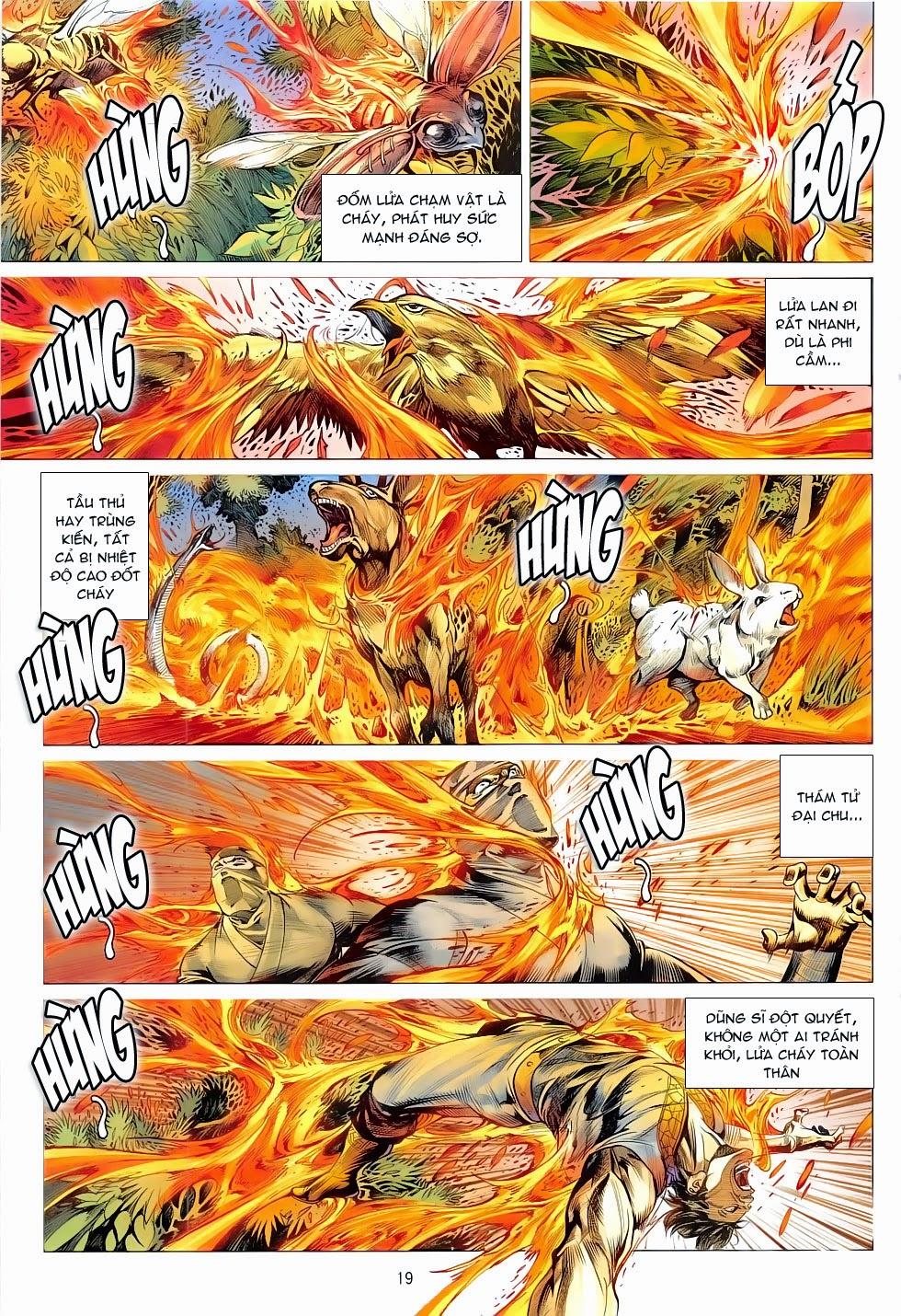xem truyen moi - CHIẾN PHỔ - Chapter 11: Liệp Hỏa Xưng Hoàng