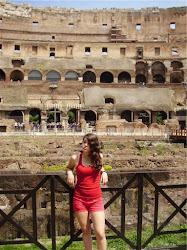 Yo en Roma..