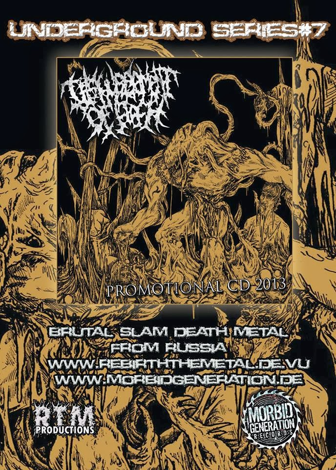 RTM037 Disfigurement Of Flesh - Promotional CD 2013