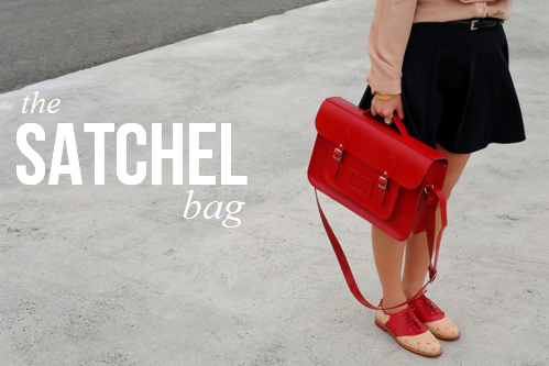 Campus Style: The Satchel Bag - College Gloss