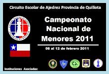 CAMPEONATO NACIONAL DE MENORES 2011