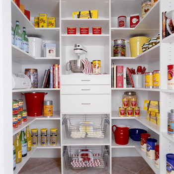 Walk-In Pantry Organization Ideas