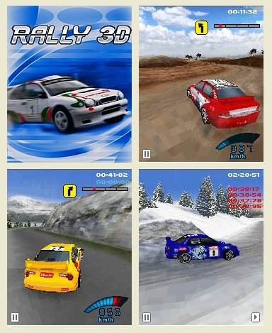 Download Game Balap Rally 3D Untuk Java, Sony Ericsson Dll