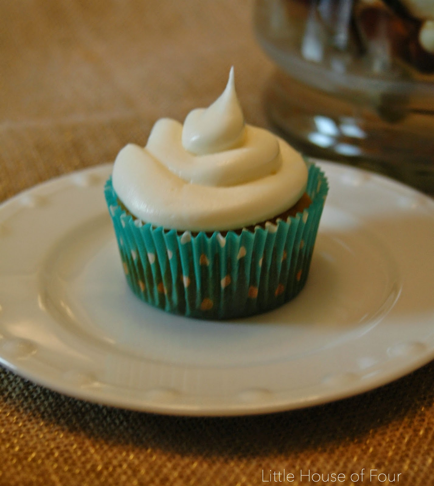 Little House of Four: Sweet Potato Cupcakes with Maple ...