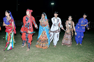Navratri Celebration at Amrut School in Ahmedabad