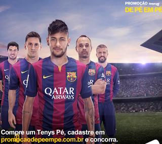Promoção Tenys Pé 2015
