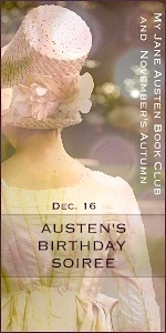 Jane Austen Birthday Soiree