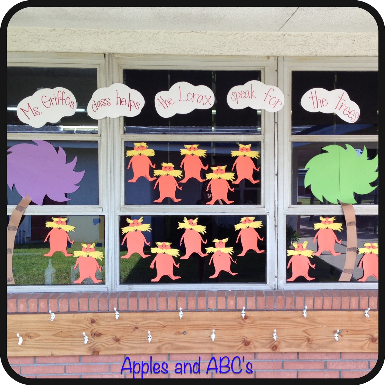 open house in kindergarten - apples and abc's