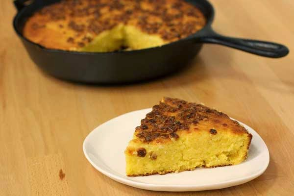 Cast Iron Corn Pone Recipe | In The Kitchen With Honeyville