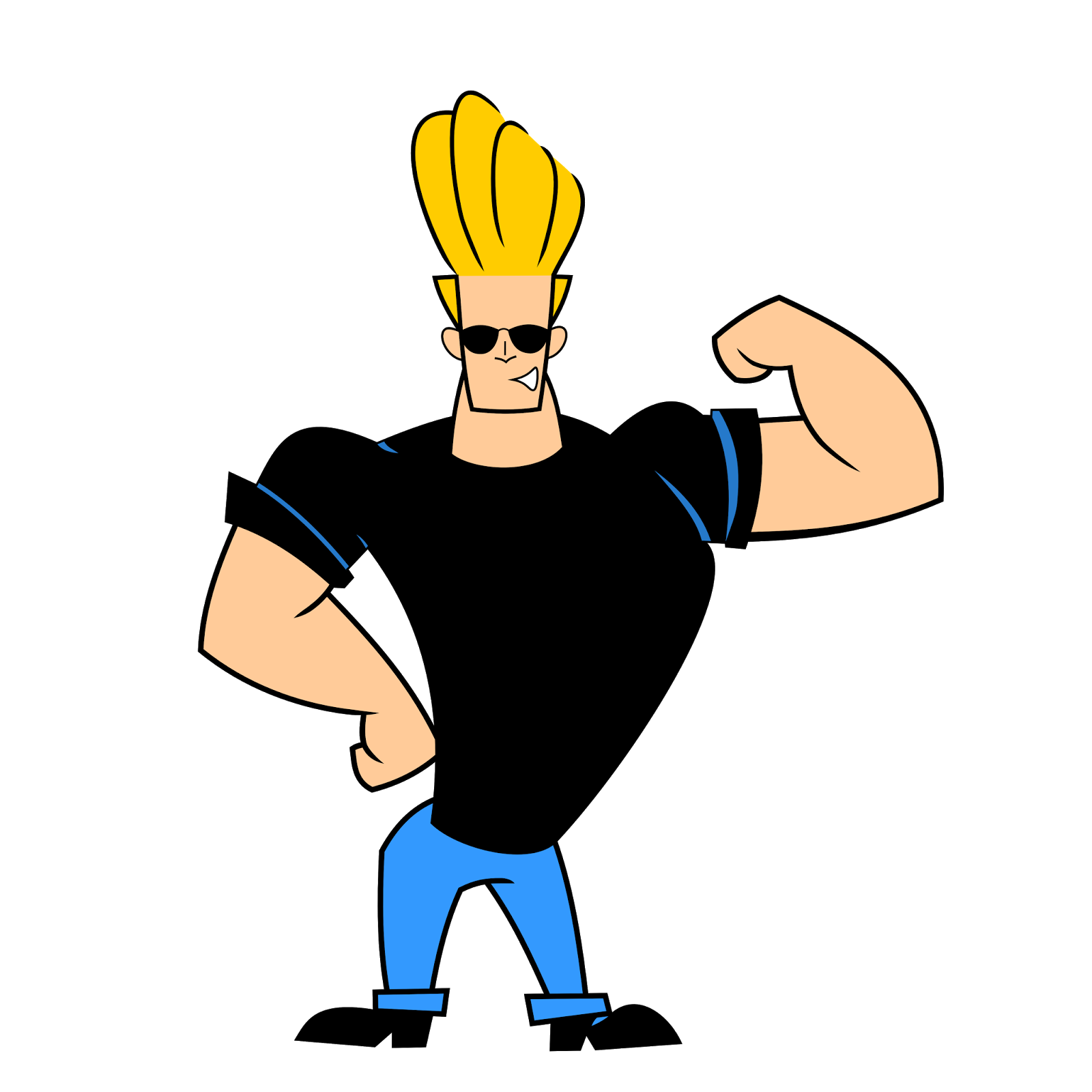 Cartoon Characters Named Johnny : Johnny bravo pops quotes quotesgram