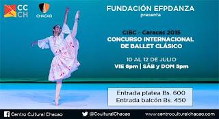 ballet venezuela caracas clases concurso