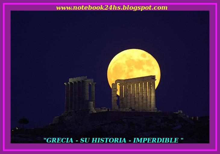 """"""" GRECIA """" SU ARQUELOGÍA - SUS MONUMENTOS"""