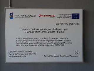 """Parkuj i Jedź""  (Park & Ride) Aleja Krakowska Warszawa"