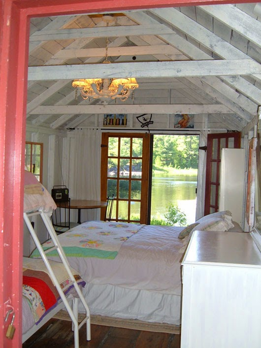 Not buying anything the bunkie blues for Cottage bunkie plans