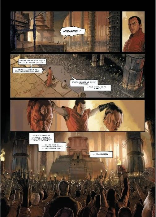 khaal cronicas emperador galactico comic yermo