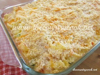 The Country Cook: Country Chicken Noodle Casserole