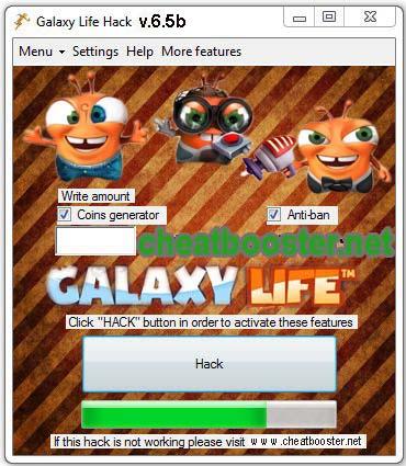Galaxy Life Hack