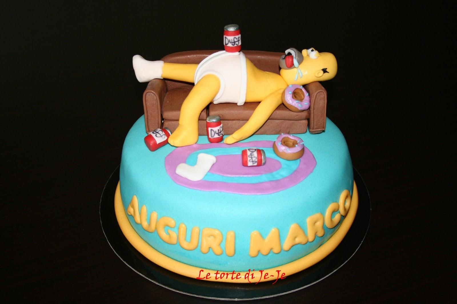 Simpson Sul Divano : Simpsons torte imagui