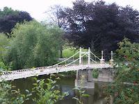 Victoria foot Bridge Bishops Meadows