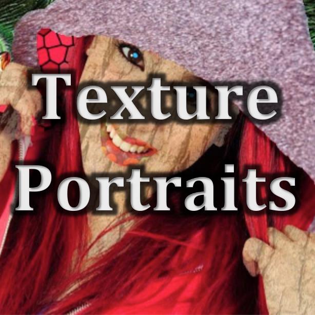 Digital Art (10-12)   Texture Portraits