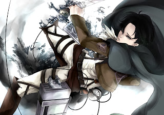 Attack on Titan Shingeki no Kyojin Levi Anime Blade HD Wallpaper Desktop PC Background 1328