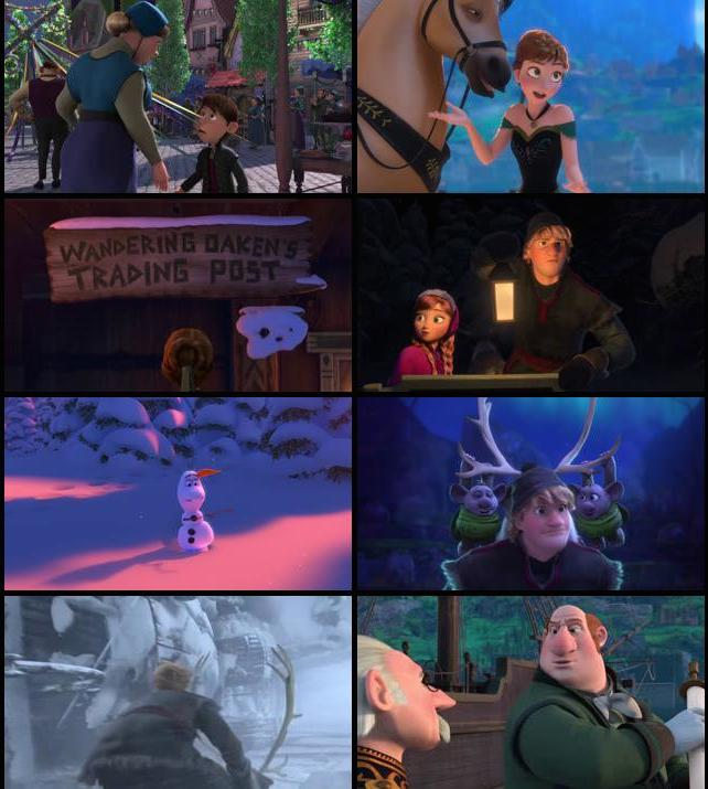 Frozen 2013 Dual Audio Hindi 480p BRRip