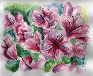 """""""Flores en acuarella"""""""