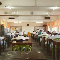 jaga peperiksaan murid