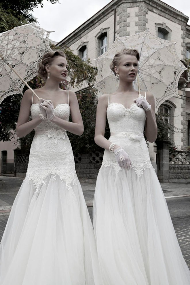 Honey Buy: vantage wedding dresses