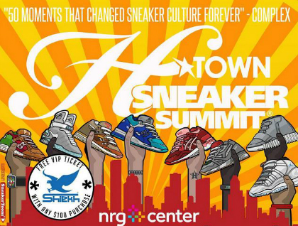 The 2015 Summer Edition of the Htown Sneaker Summit.