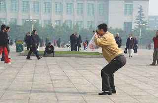 Funny picture of chinese making photo