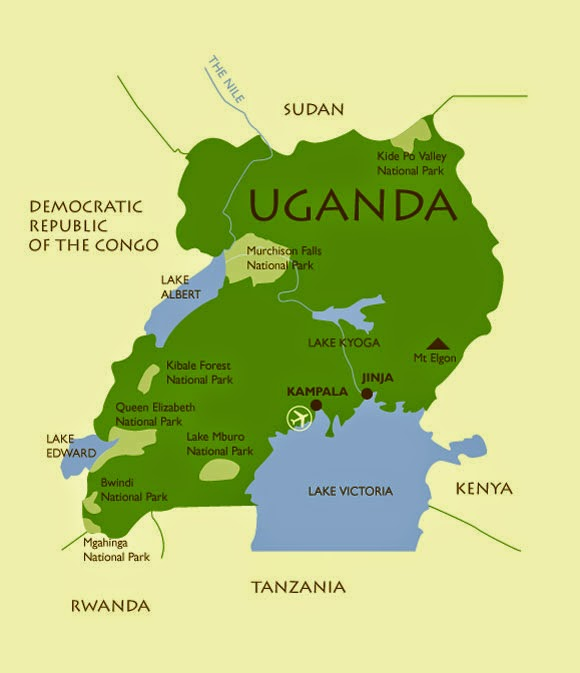 A history of uganda roughly double the size of pennsylvania 1 uganda is about 93000 sq miles with a population of 33 million its capital kampala which is located on the sciox Gallery