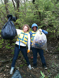 Cleaning up the Anacostia :)